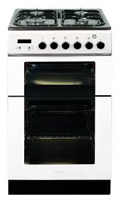 Baumatic Kitchen Appliances 50 Cm Twin Cavity Gas Cooker