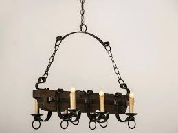 metal chandelier chain cover old and vintage wood black iron with candle holder hanging chains for rustic dining room or kitchen lighting ideas