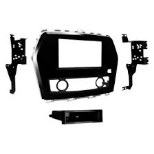 2016 nissan maxima stereo video installation parts carid com metra® single double din black stereo dash kit