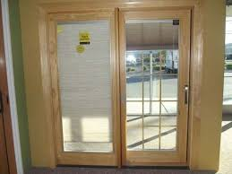 pella sliding patio doors with built in blinds sliding door designs single