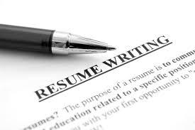 resume writing Resume