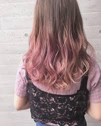 シアピンクベージュ Hair2019 グラデーション ヘアカラーヘア