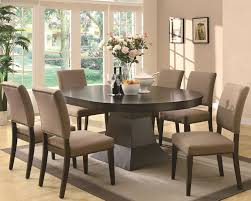 Dining Tables  Modern Oval Dining Table Oval Dining Table Set For Small Oval Dining Table Modern