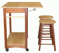 Mobile Kitchen Island Mobile Kitchen Islands Snack Bar Breakfast Stools Wood Ebay