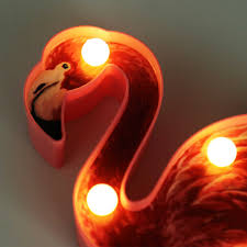 Detail Feedback Questions About 14x23cm Neon Lamp Flamingo Cactus