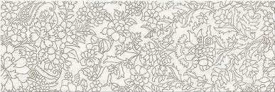 <b>Mei Pret</b> A <b>Porter</b> Вставка White Iserto Flower 25x75 <b>керамическая</b> ...