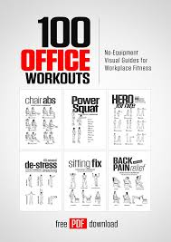 find relief even in the office with these 100 diffe workouts you can do at work