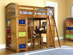 cool bunk beds with desk. Loft Bunk Bed With Desk Stylish Workstation Interesting Kids Beds Cool