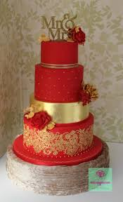 10 Red And Gold Quince Cakes Photo Red And Gold Quince Cake Black