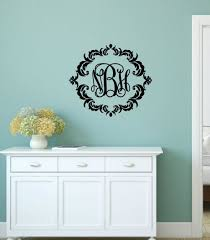 monogram wall decal eprodutivo com monogram wall decals wood