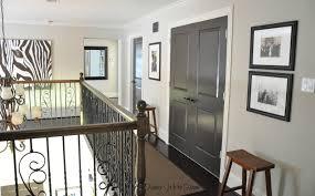 Brown Trim Paint Painted Dark Grey Doors Honey Were Home