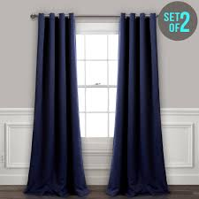 preview with zoom lush decor insulated grommet blackout curtain
