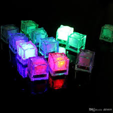 Lights The Ice Pack 2019 Multicolor Ice Cubes Light Water Submersible Cube Led 12 Pack Of Decorative Led Liquid Sensor Ice Cubes Shape Lights Glow Light Up From Dlf0009