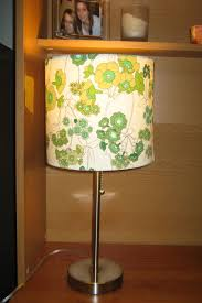 diy how to recover lampshade withric cloth covered lamp wire moss red cord home depot