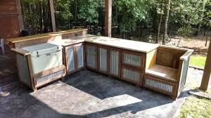 rustic outdoor kitchen ideas encourage kitchens