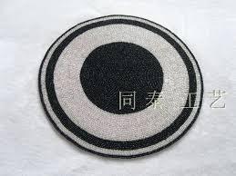 black round table mats big retro record vinyl mat insulation