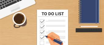 s preparation checklist have you done your homework  have you done your homework