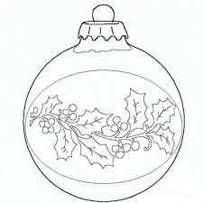 Small Picture Ball Christmas Ornament Christmas Coloring Page Christmas