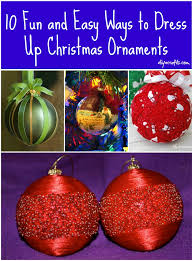 Decorating Christmas Ornaments Balls 100 Fun and Easy Way to Dress Up Christmas Ornaments DIY Crafts 85