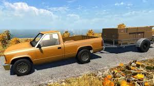BeamNG DRIVE Alpha - Pickup Truck + Trailer on Small Island USA ...