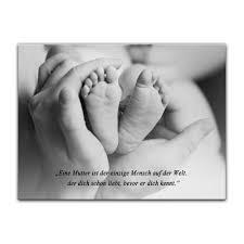 Leinwandbild Mit Zitat Mutterliebe Unbekannt