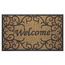 outdoor front door matsHome Doormat Welcome Indoor Outdoor Entrance Way Door Entry Floor