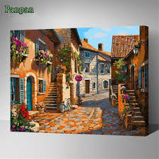 Acrylic Paint By Number Home Decor Abstract Canvas paintings Digital  Painting By Numbers Wall Pictures for