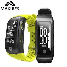 Makibes G03 men's <b>Bracelet</b> IP68 <b>Waterproof Smart</b> Band Heart ...
