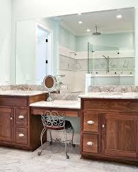 double vanity with makeup table. vanities: double vanity with makeup station bathroom sink table .