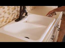 how to caulk a kitchen or bath without a caulking