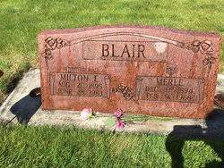 Merle Mallory Blair (1894-1968) - Find A Grave Memorial