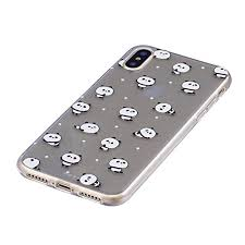 Cover Per Iphone X 58 Silicone Custodia Morbida Trasparente Con