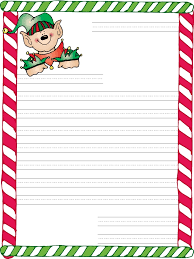 Note Paper Template Delectable Christmas Letter Template Everything Of Letter Sample