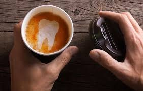 I'd like to tell you you can remove the coffee stains from your teeth by simply rubbing them with a strawberry or a lemon as some people claim this remedy works, but this method will only whiten teeth to a certain degree. How To Remove Coffee Stains From Teeth At Home Ghost White Ghost White The Ultimate Teeth Whitening System