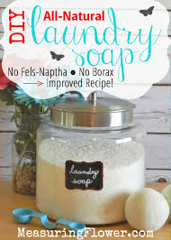 diy all natural laundry soap without fels naptha and borax scroll down for liquid version