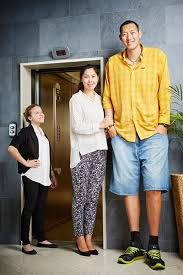 tallest woman in the world 2013 height. Brilliant Height They Got Married About Five Years Ago In Beijing China On 4 August 2013 And Tallest Woman In The World 2013 Height T