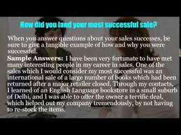 sales executive interview questions   youtube
