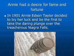 Image result for 1901, Annie Edson Taylor