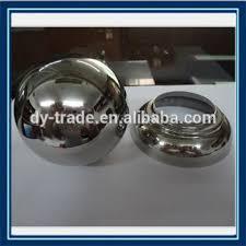 Stainless Steel Decorative Balls Handrail Balcony Railing Hollow Half Ball Decorative 32