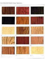 Oak Stain Color Chart Shades Of Oak Stain Eczemareport Co