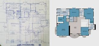 Architecture drawing floor plans Blueprint Floor Plan Before And After Fiverr Boxbrowniecom Floor Plan Redraw Service