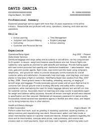 Best Passenger Service Agent Resumes | Resumehelp