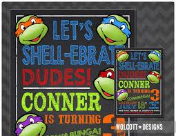 Ninja Turtle Bedroom Furniture Ninja Turtles Etsy