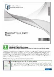 Tournament Sign Up Sheets Fillable Online 3 On 3 Basketball Tournament Sign Up Sheet Template