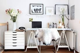 home office decor. scandinavian home office decorating idea decor