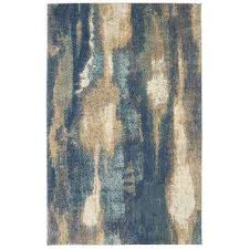 wendall blue 8 ft x 10 ft indoor area rug