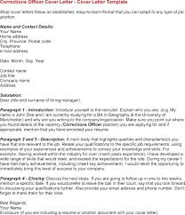 Probation Officer Cov Fabulous Correctional Officer Cover Letter ...