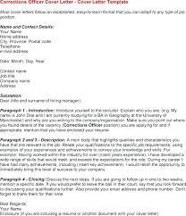 Probation Officer Cov Fabulous Correctional Officer Cover Letter ...