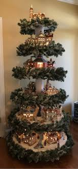 Christmas Tree Village Display Stands MultiTier Village Display Hot Wire Foam Factory 57