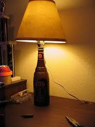 diy lamp wine bottle
